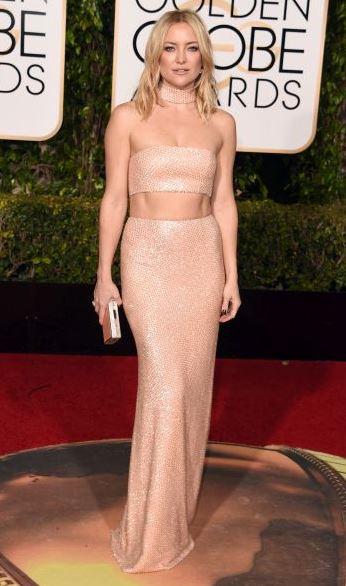 Kate Hudson in custom Michael Kors